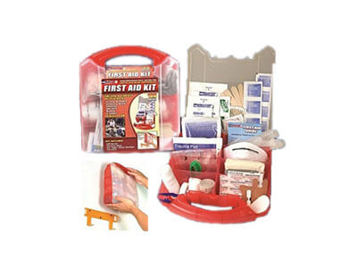 183 Piece First Aid Kit – 2 Pack