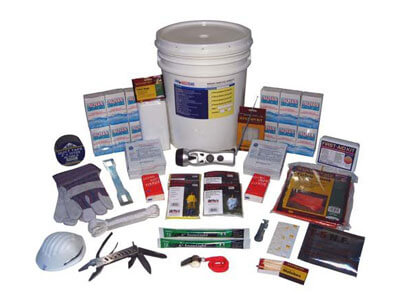 2-Person Bucket Style Emergency Kit