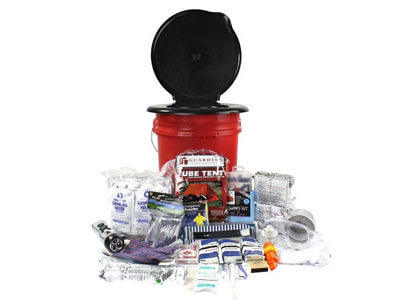 2-Person-Guardian Bucket Survival Kit