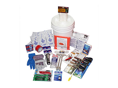 4 Person Deluxe Emergency Survival Bucket Kit