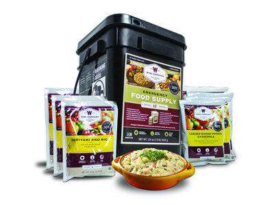 60 Serving Kit of Emergency Freeze Dried Food Entrees