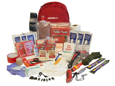 Deluxe 2 Person Survival Kit