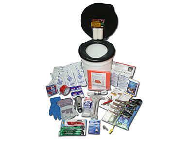 Deluxe Earthquake Survival Bucket Kit