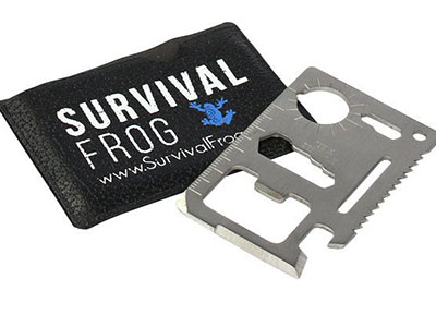 11-in-1 Survival Wallet Tool