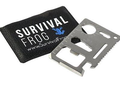 11-in-1 Survival Wallet Tool